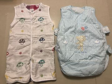 Hoppetta 六層紗可拆袖成長型睡袍