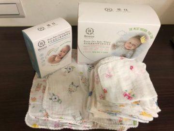 Roaze柔仕 乾濕兩用嬰兒紗布毛巾