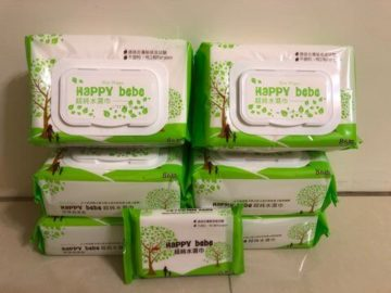 HAPPYBEBE 超純水濕紙巾(有蓋款)