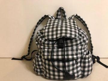 HARU 日本布料 束口後背包