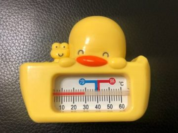 PiyoPiyo 黃色小鴨 兩用水溫計