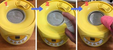 小獅王水垢清潔劑使用方式