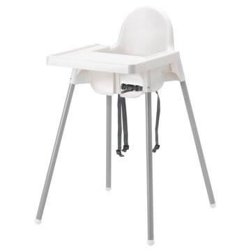 IKEA高腳椅附托盤