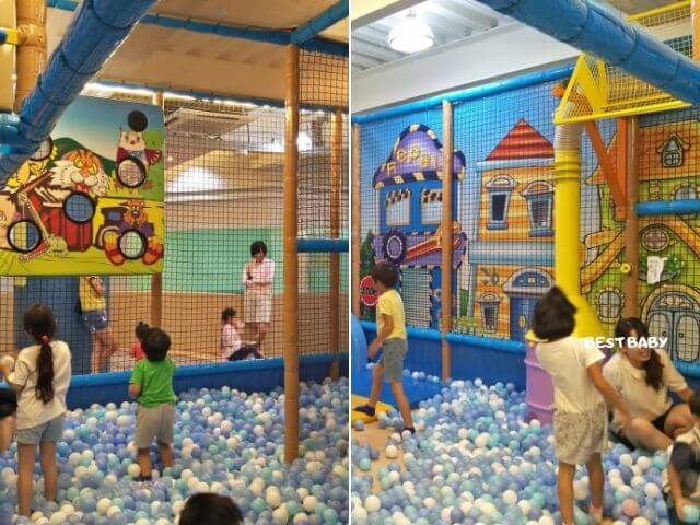 台南童樂島球池