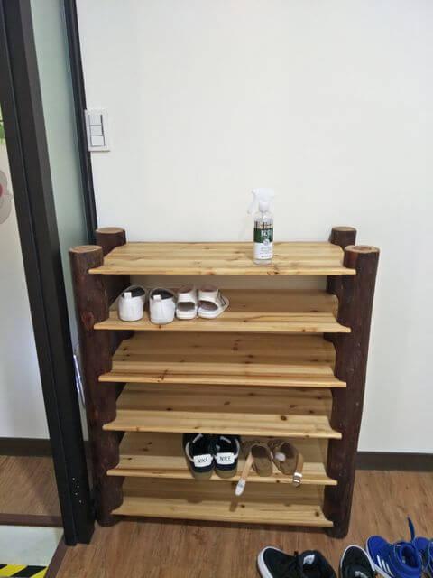 小森林親子餐廳鞋櫃