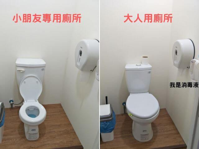 小森林親子餐廳廁所