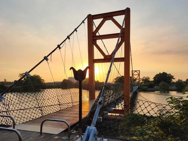 葫蘆埤自然公園吊橋