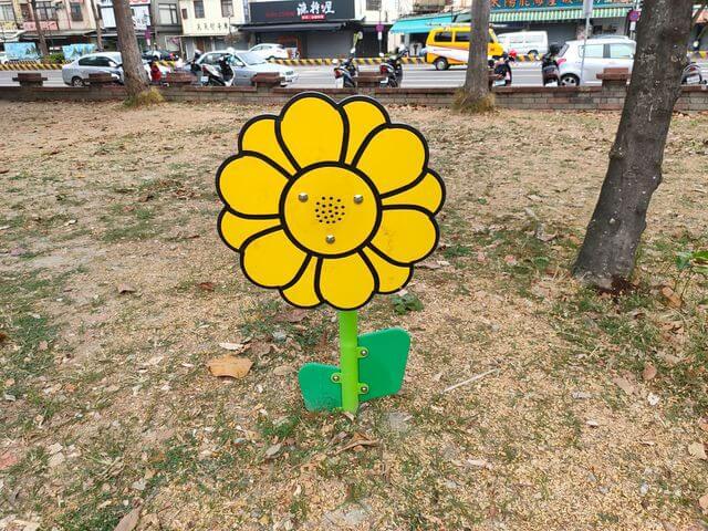 水萍塭公園傳聲花