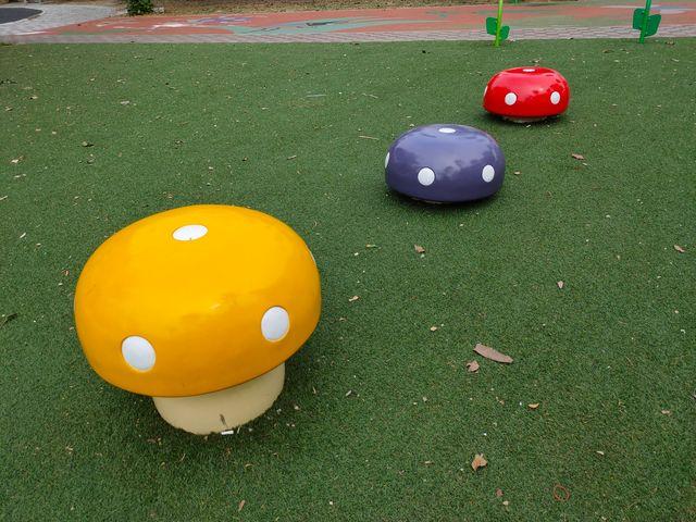 水萍塭公園蘑菇椅