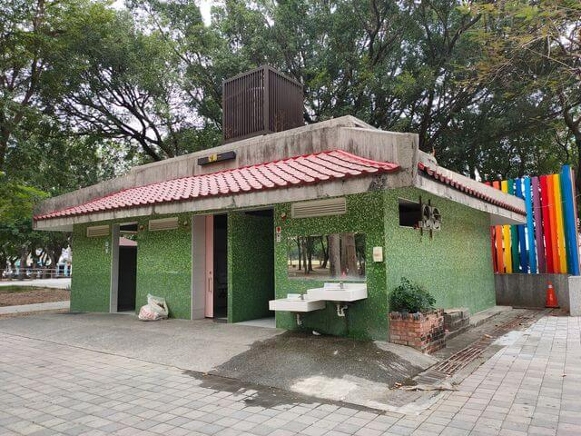 水萍塭公園廁所