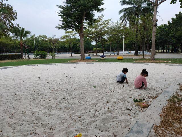 水萍塭公園沙坑