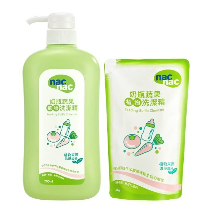NAC NAC 奶瓶蔬果洗潔精