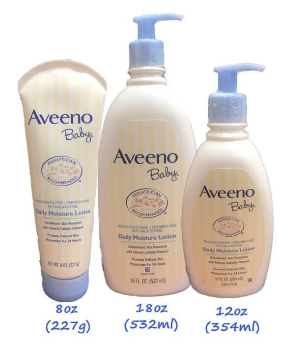 燕麥寶寶Aveeno Naturals 乳液