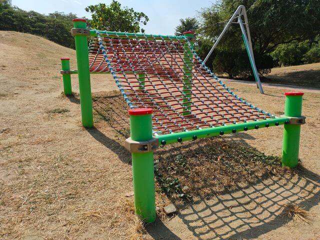 明和公園小型攀爬網