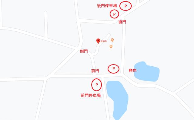 佳福寺地圖